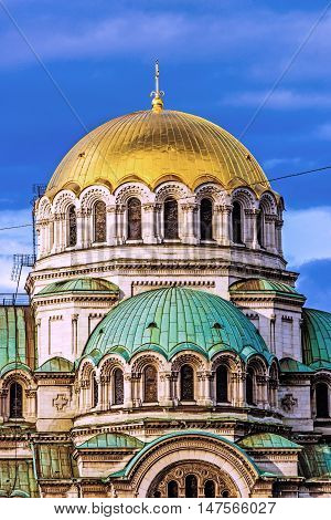 St. Alexander Nevsky Orthodox Cathedral in Sofia, Bulgaria.