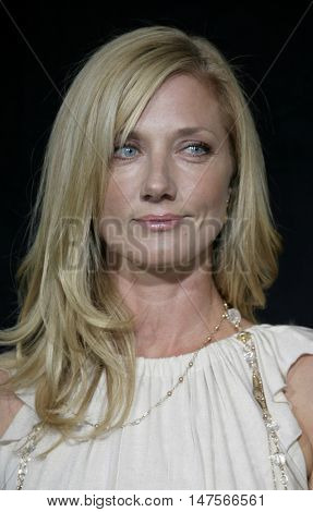 Joely Richardson at the FX Networks NIP/TUCK 3rd Season premiere held at the El Capitan Theatre in Hollywood, USA on September 10, 2005.