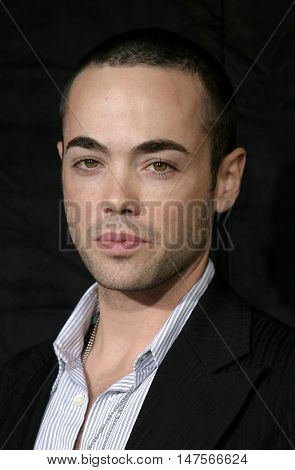 John Hensley at the FX Networks NIP/TUCK 3rd Season premiere held at the El Capitan Theatre in Hollywood, USA on September 10, 2005.