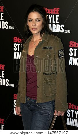 Summer Altice at the 2005 Stuff Style Awards held at the Hollywood Roosevelt Hotel in Hollywood, USA on September 7, 2005.