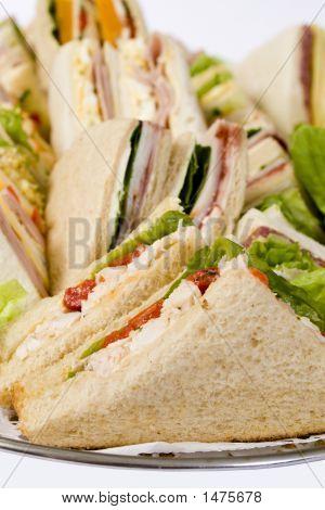 Cerrar bandeja de Sandwich