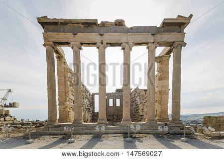 Erechtheion Temple Acropolis