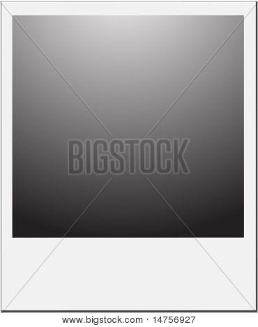 Vektor-Illustration von leeren Foto