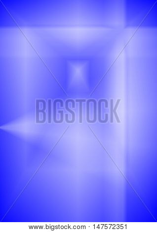 abstract blue abstract background suitable as a container or background