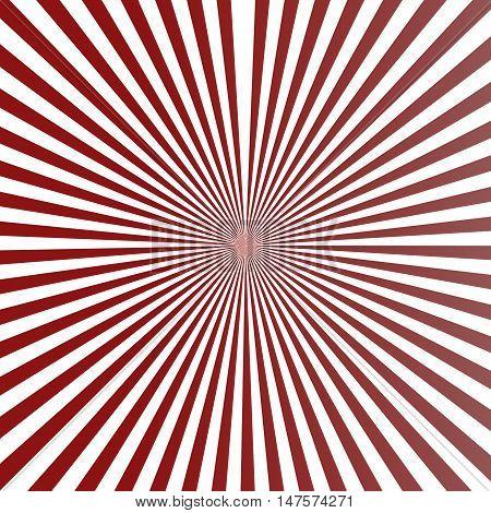 Background circular stripe pattern in retro colors.