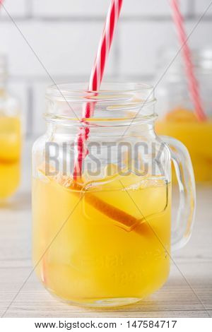 Fresh Home Made Orange Screwdriver Cocktails