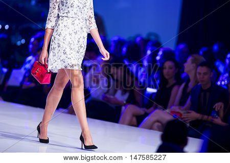 Sofia Fashion Week Female Red Handbag