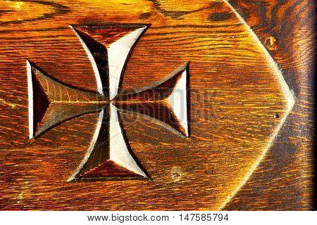 Lombardy  Castellanza    Rusty Brass Brown Knocker In A  Doo