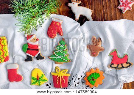 Sweet Christmas cookies for Christmas time - homemade Christmas cookies
