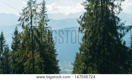 Valey Gasienicowa in Tatra mountains in Zakopane, Poland
