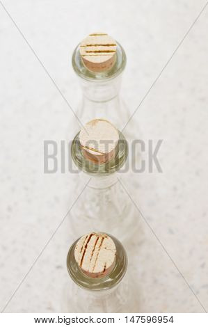 Shot glass for brandy. Still life as motive.