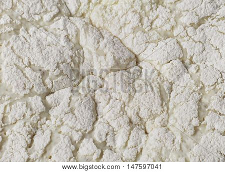 Wheat dough yeast close up. Food Background