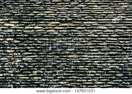Background of stone wall for  texture and abstrac