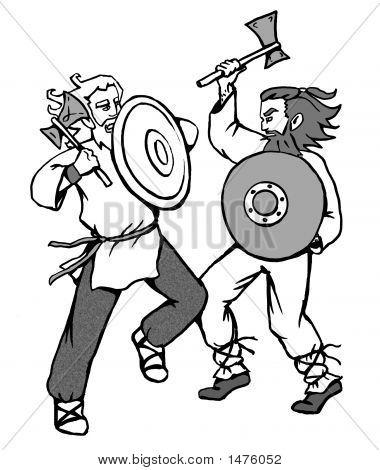 Kampf gegen die Wikinger