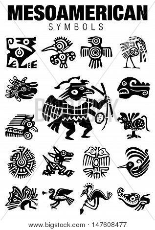 Mesoamerican Symbols2.eps