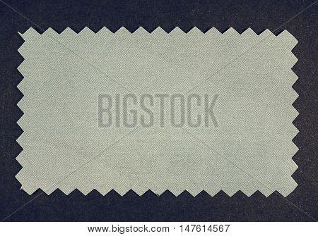Vintage Looking Blue Paper Sample