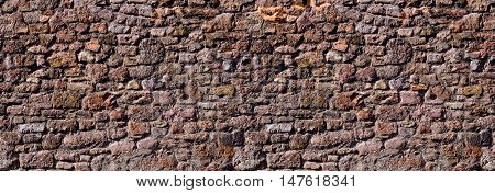 texture of the old Roman masonry. Background