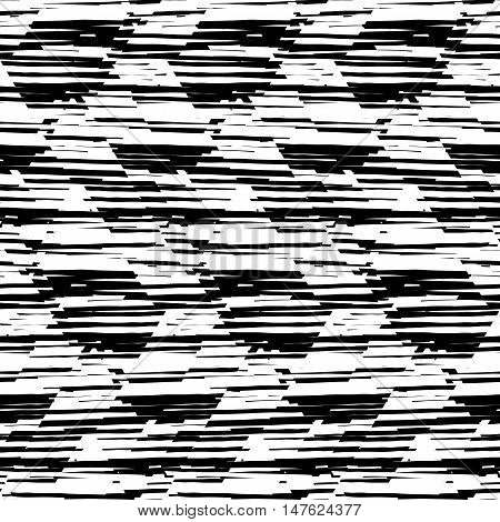 Black and white stripes. Monochrome stripes. Geometric stripes. Op art stripes. Stripped pattern. Stripped vector. Stripped seamless. Stripe background. Stripe texture. Black and white vector stripes