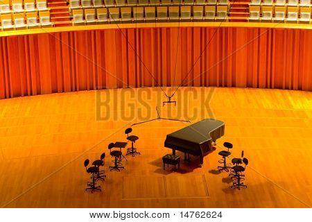 sala de conciertos moderna