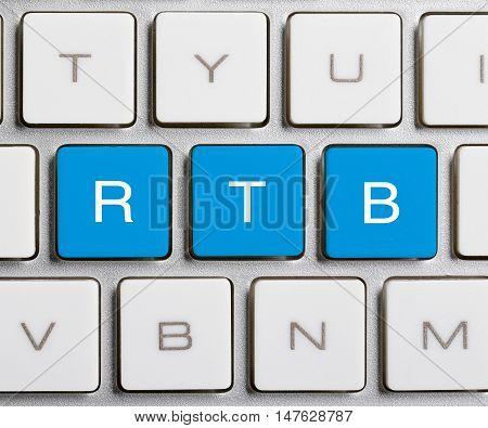 Rtb Word On Keyboard Button