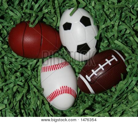 Sports Equipment Eggs