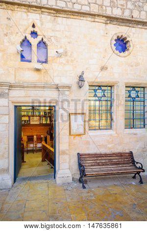 The Ashkenazi Haari Synagogue, In The Jewish Quarter, Safed (tzfat)