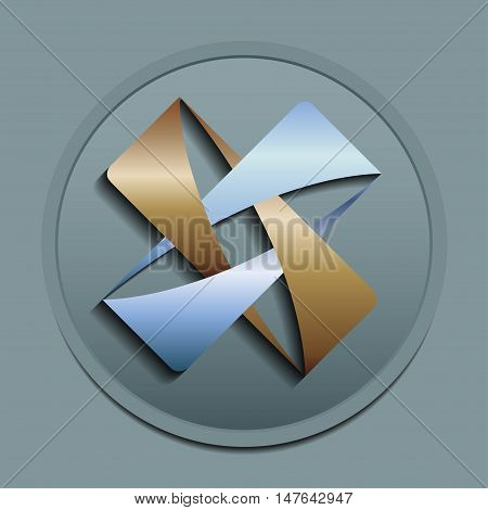 Abstract logo, design concept, element for template