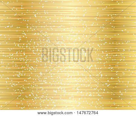 gold shining glitter background , star dust gold