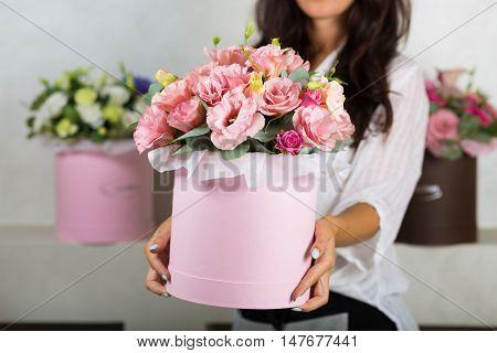 Lovely Bouquet In A Flower Shop