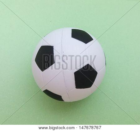 Football Ball Closeup