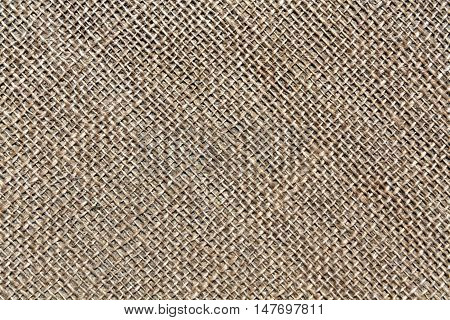 Brown Sack Cloth Texture.