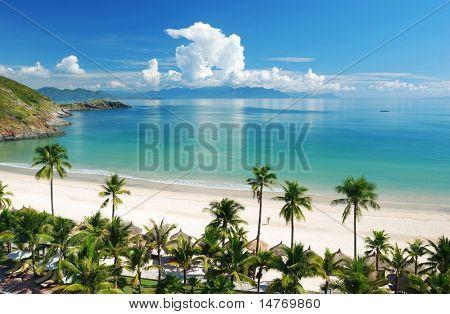 Strandszene, Tropics, Pazifik
