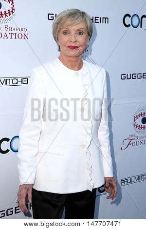 LOS ANGELES - SEP 17:  Florence Henderson at the Brent Shapiro Foundation for Alcohol and Drug Prevention at the Private Residence on September 17, 2016 in Beverly Hills, CA