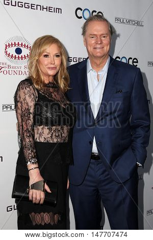 LOS ANGELES - SEP 17:  Kathy Hilton, Rick Hilton at the Brent Shapiro Foundation for Alcohol and Drug Prevention at the Private Residence on September 17, 2016 in Beverly Hills, CA