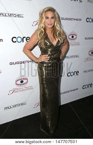 LOS ANGELES - SEP 17:  Adrienne Maloof at the Brent Shapiro Foundation for Alcohol and Drug Prevention at the Private Residence on September 17, 2016 in Beverly Hills, CA