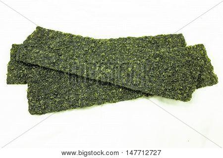 organic, seaweed dry seaweed on the background