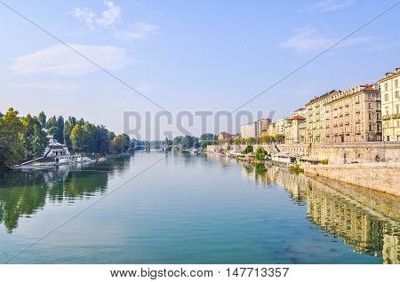 Hdr River Po Turin
