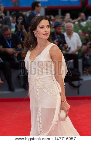 Giulia Elettra Gorietti  at the premiere of Hacksaw Ridge at the 2016 Venice Film Festival. September 4, 2016  Venice, Italy