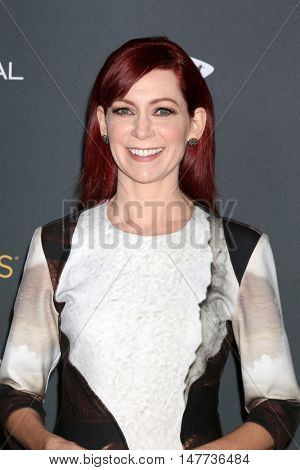 LOS ANGELES - SEP 16:  Carrie Preston at the TV Academy Performer Nominee Reception at the Pacific Design Center on September 16, 2016 in West Hollywood, CA