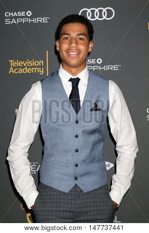 LOS ANGELES - SEP 16:  Marcus Scribner at the TV Academy Performer Nominee Reception at the Pacific Design Center on September 16, 2016 in West Hollywood, CA