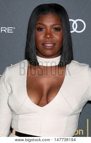 LOS ANGELES - SEP 16:  Ta'Rhonda Jones at the TV Academy Performer Nominee Reception at the Pacific Design Center on September 16, 2016 in West Hollywood, CA