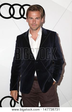 LOS ANGELES - SEP 15:  Tommy Dewey at the Audi Celebrates The 68th Emmys at the Catch on September 15, 2016 in West Hollywood, CA