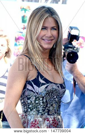 LOS ANGELES - SEP 17:  Jennifer Aniston at the