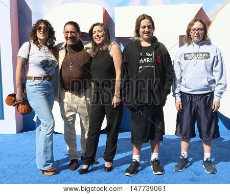 LOS ANGELES - SEP 17:  Danny Trejo, Family at the