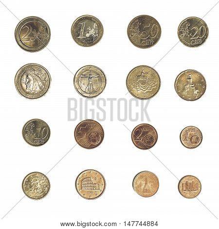 Vintage Euro Coin - Italy
