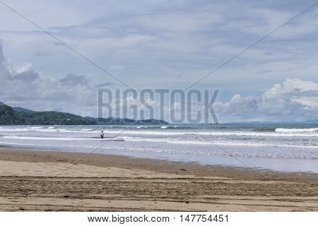 Beach Scene In Costa Rica