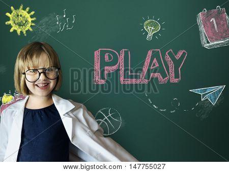 Study Ideas Learn Kids Concept