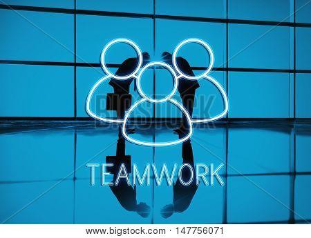 Teamwork Leadership Partnership Concept