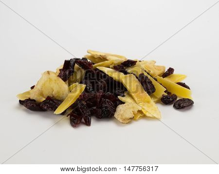 Dried Fruit Of Cranberry Mango And Banana