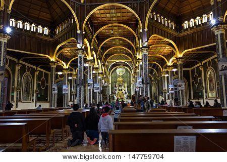 Basílica De Nuestra Señora De Los Ángeles -cartago, Costa Rica